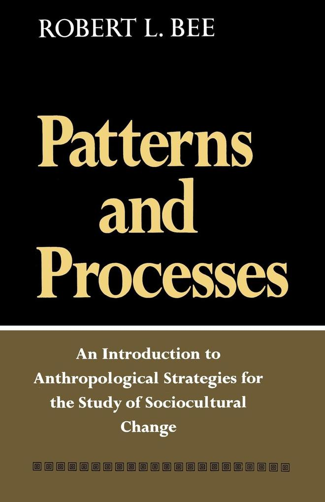 Patterns and Processes als Taschenbuch