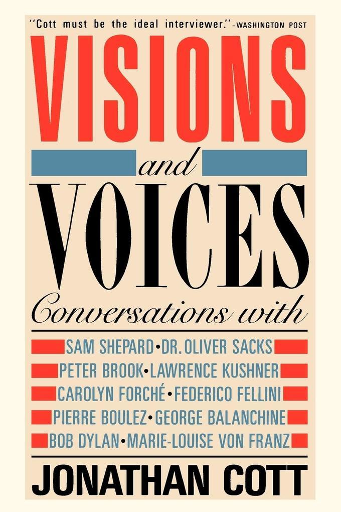 Visions and Voices als Taschenbuch