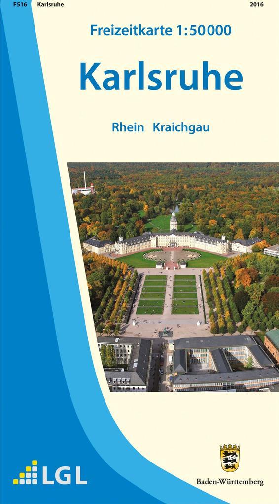 LGL BW 50 000 Freizeit Karlsruhe als Buch von