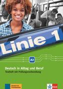 Linie 1 A2. Testheft mit Audio-CD