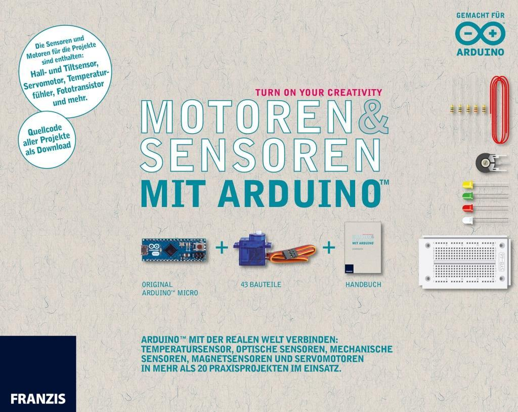 Franzis Maker Kit Sensoren und Motoren mit dem ...