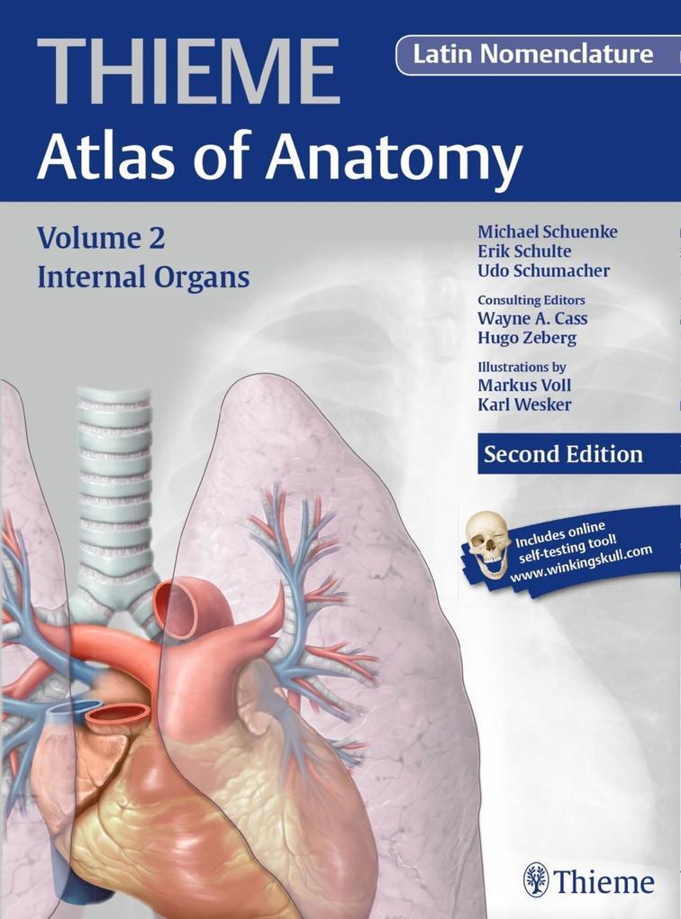 Internal Organs (THIEME Atlas of Anatomy), Latin nomenclature als Buch