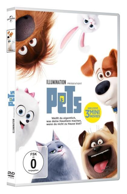 Pets als DVD