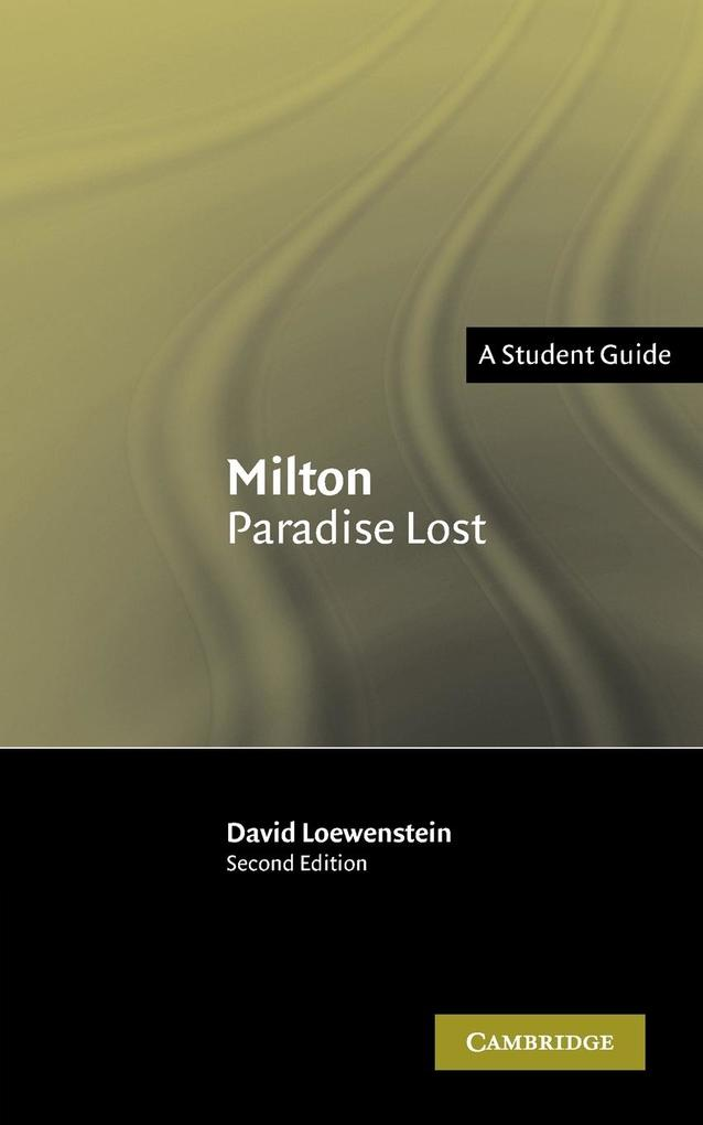 Milton Paradise Lost: A Student Guide als Buch