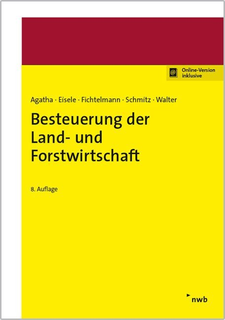 Besteuerung der Land- und Forstwirtschaft als Buch