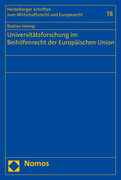Universitätsforschung im Beihilfenrecht der Europäischen Union