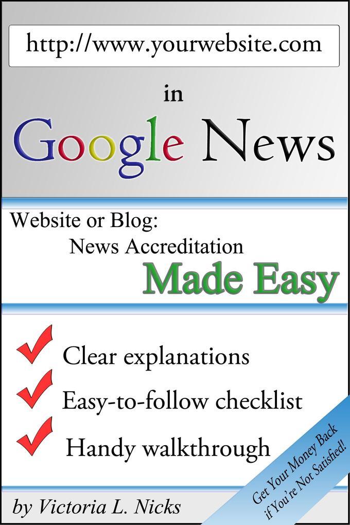 Get Your Website in Google News als eBook Downl...