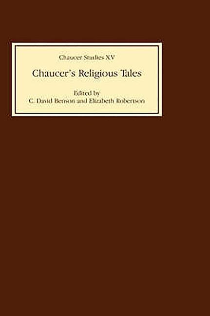 Chaucer's Religious Tales Chaucer's Religious Tales Chaucer's Religious Tales als Buch