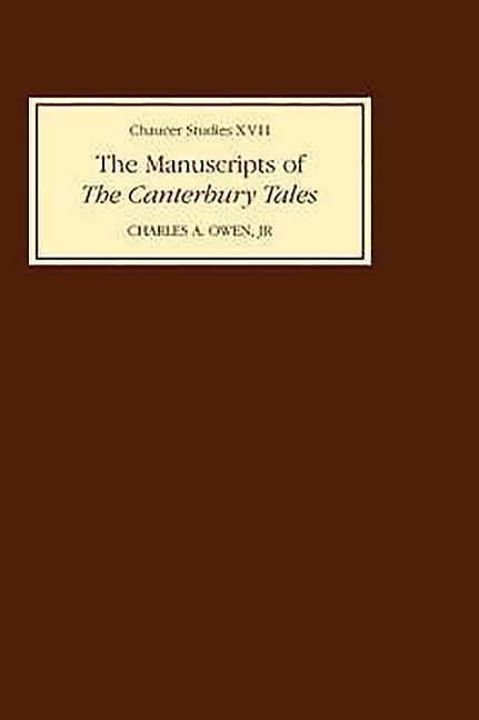 The Manuscripts of the Canterbury Tales als Buch (gebunden)