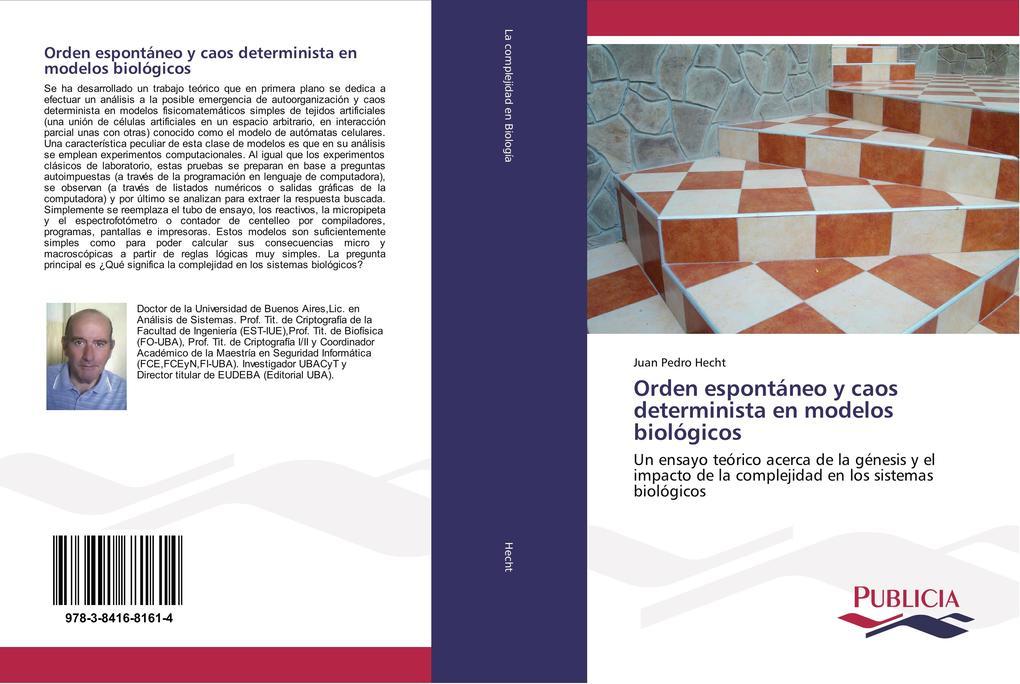 Orden espontáneo y caos determinista en modelos biológicos als Buch (gebunden)
