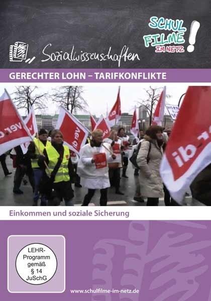 Gerechter Lohn - Tarifkonflikte, 1 DVD als DVD