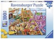 Abenteuer auf dem Piratenschiff. Puzzle 100 Teile XXL