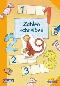 Pixi kreativ Nr. 29: VE 5 Zahlen schreiben als ...