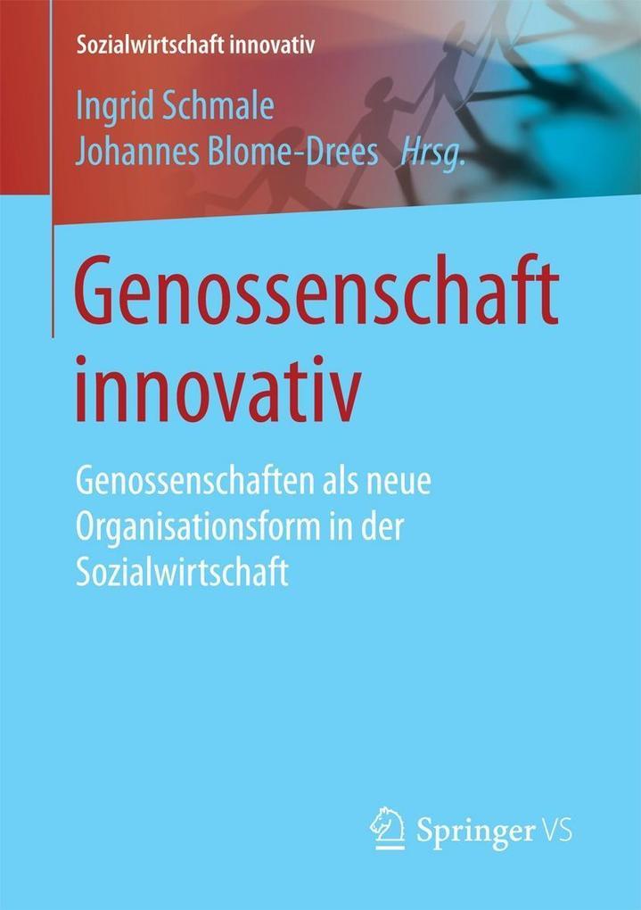 Genossenschaft innovativ als eBook Download von