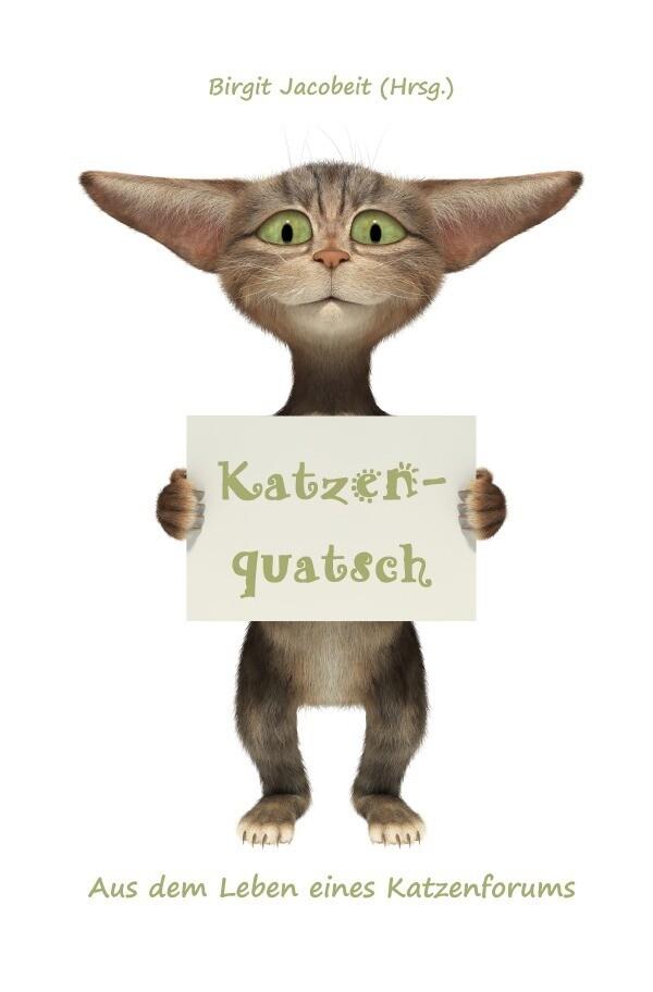Katzenquatsch als Buch