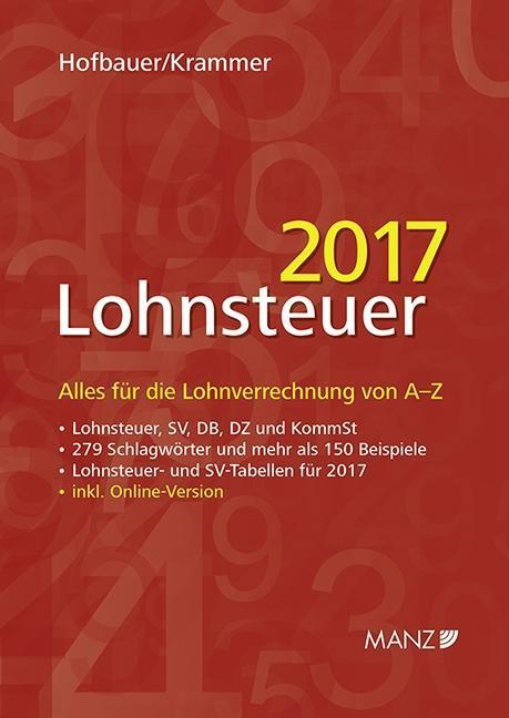 Lohnsteuer 2017 als Buch von Josef Hofbauer, Mi...