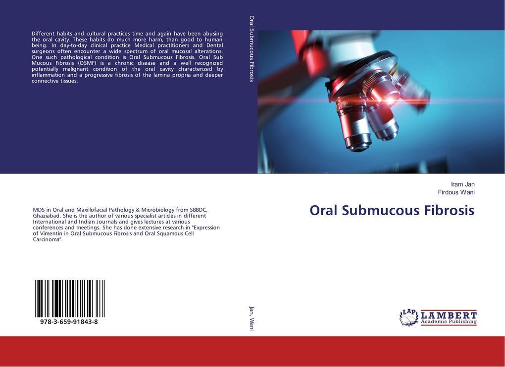Oral Submucous Fibrosis als Buch (gebunden)