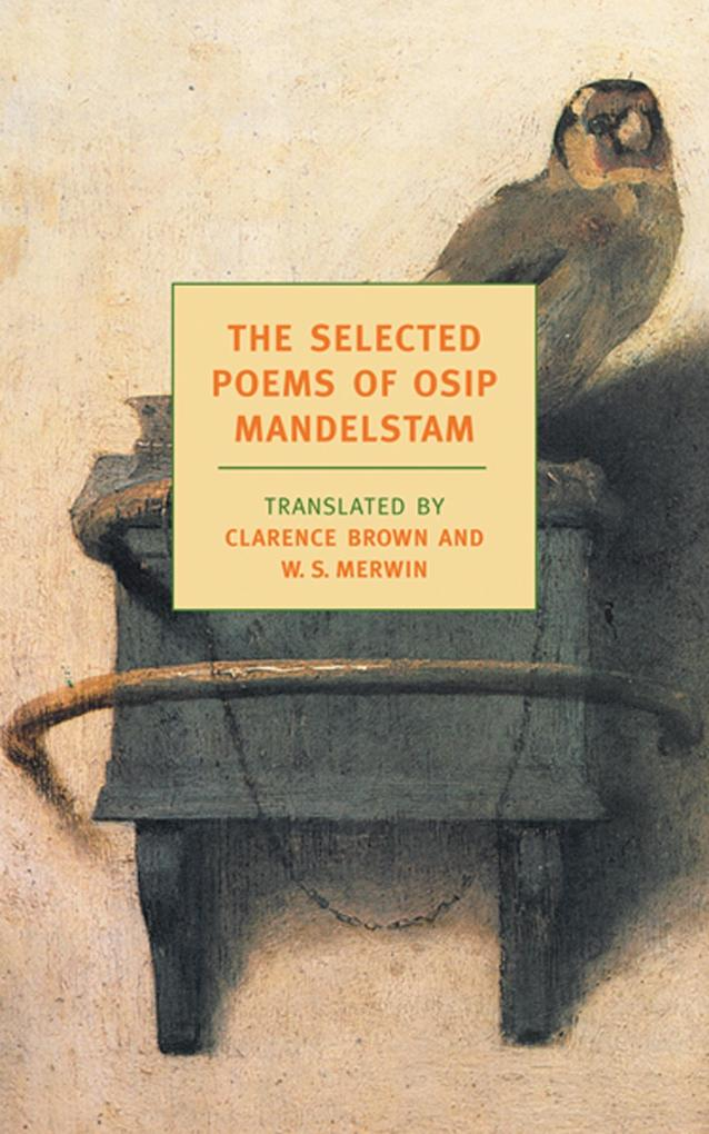 The Selected Poems of Osip Mandelstam als Taschenbuch