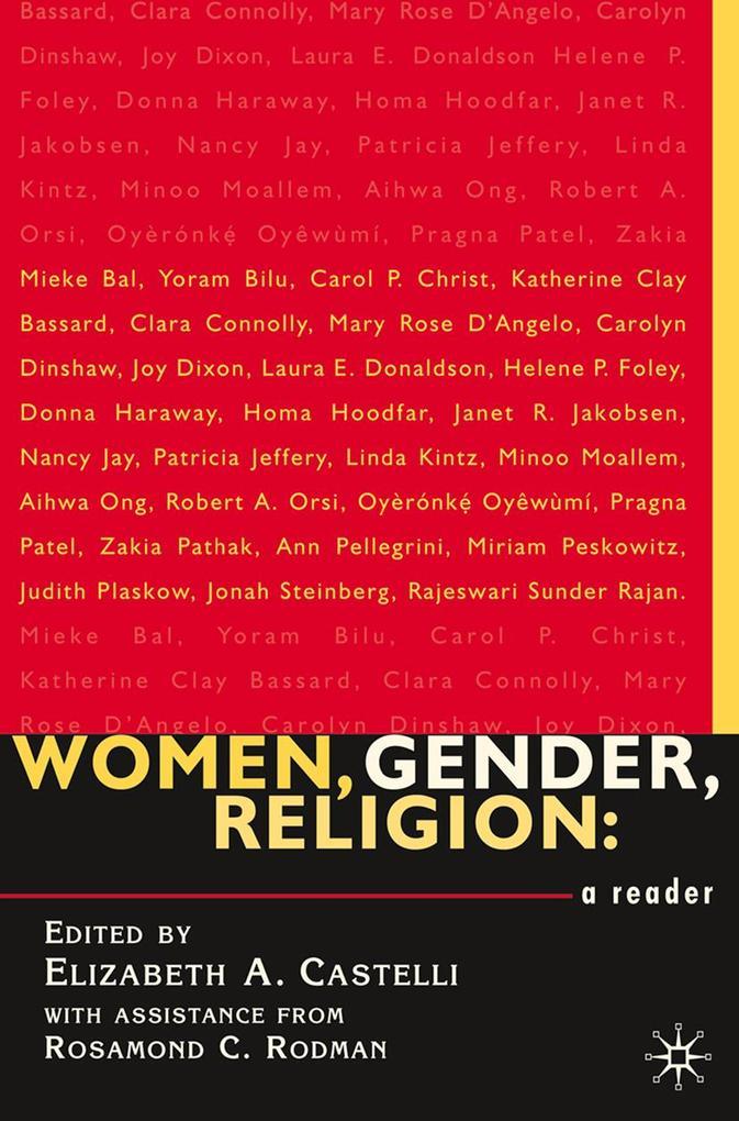 Women, Gender, Religion als eBook Download von