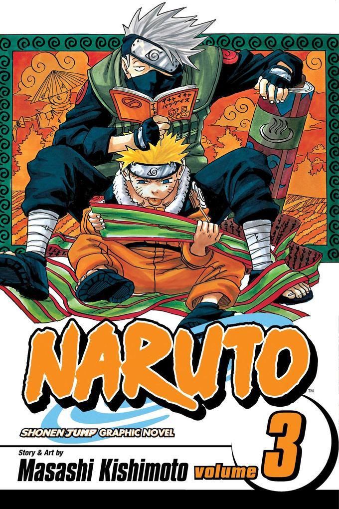 Naruto, Vol. 3 als Taschenbuch