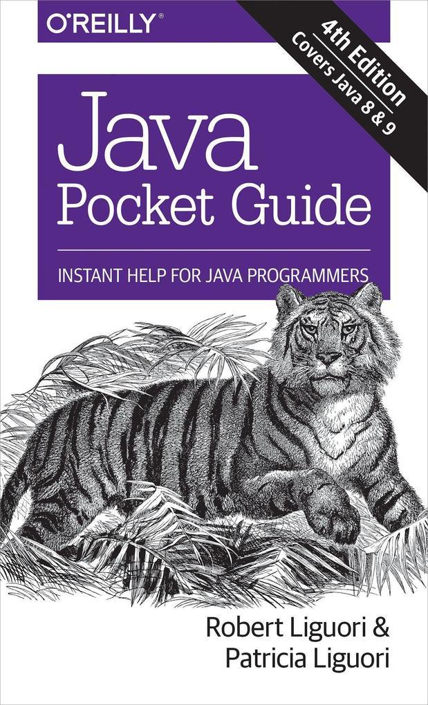 Java Pocket Guide, 4e als Buch (gebunden)
