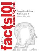 Studyguide for Statistics by McClave, James T., ISBN 9780321783059
