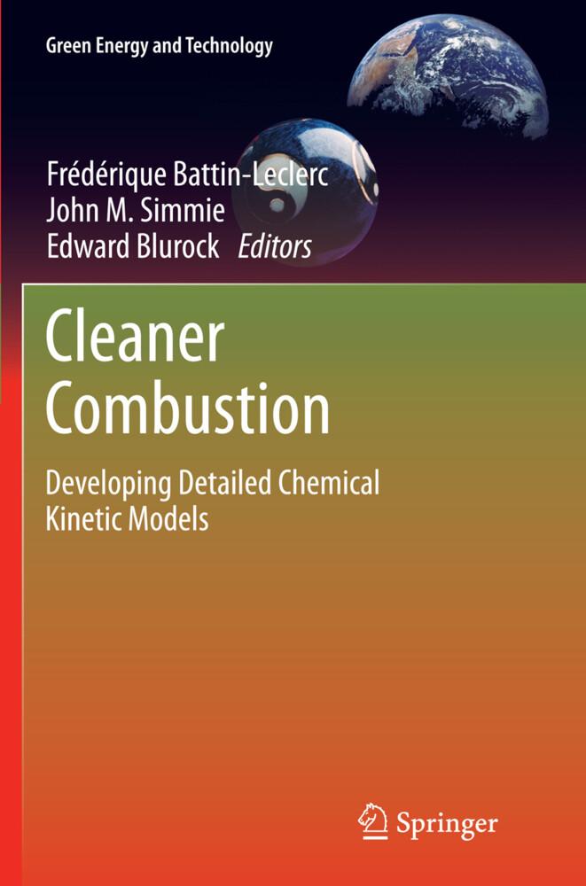 Cleaner Combustion als Buch (gebunden)