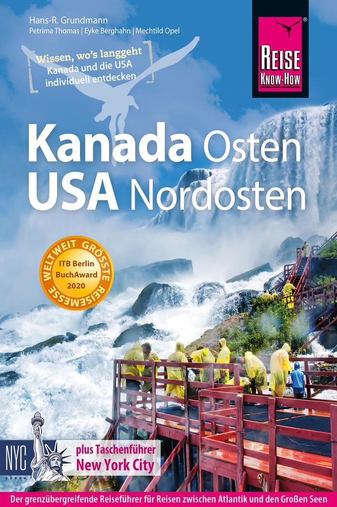 Kanada Osten / USA Nordosten als eBook epub