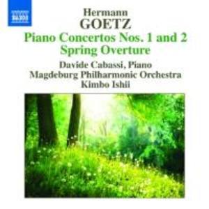 Klavierkonzerte 1+2/Frühlingsouvertüre als CD
