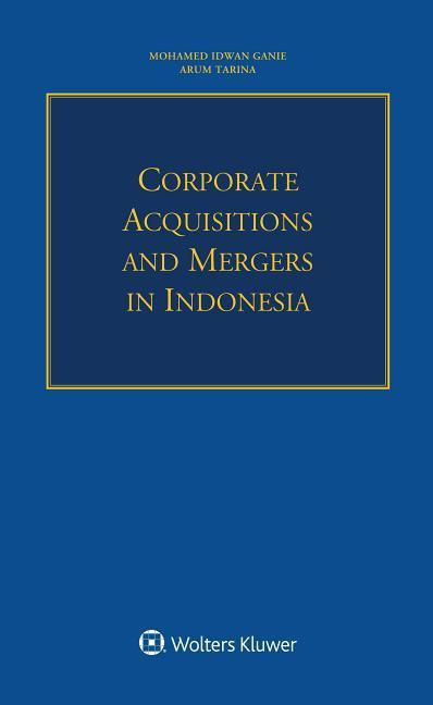 Corporate Acquisitions and Mergers in Indonesia als Taschenbuch