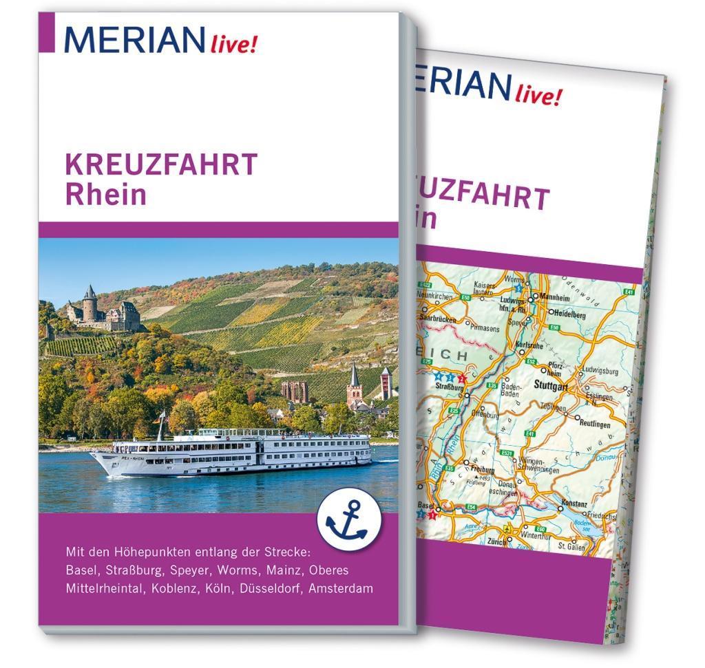 MERIAN live! Reiseführer Kreuzfahrt Rhein als B...