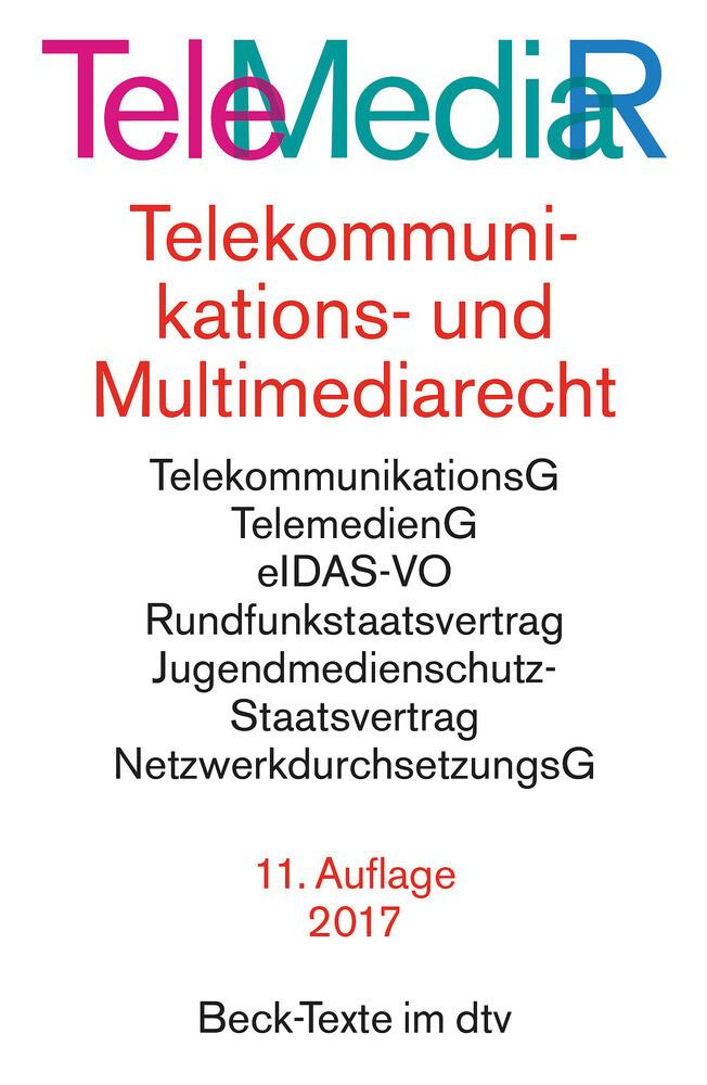 Telemediarecht als Taschenbuch