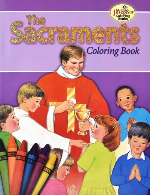 Coloring Book about the Sacraments als Taschenbuch