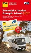 ADAC Camping- und Stellplatzführer Frankreich und Spanien 2017