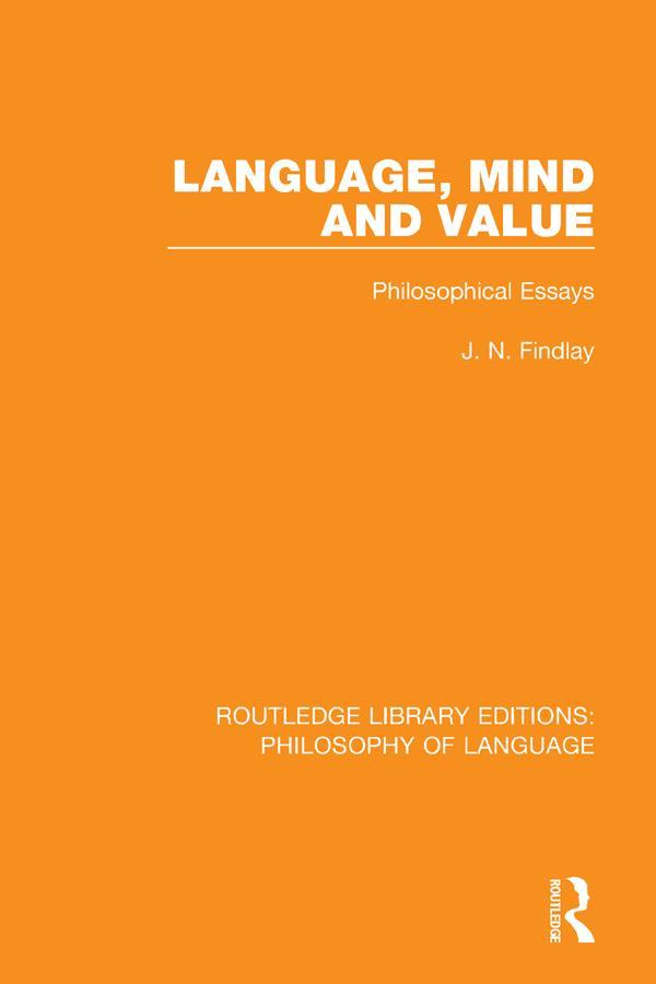 Language, Mind and Value als eBook epub