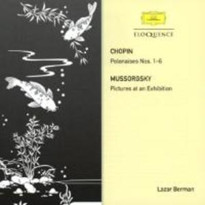 Berman spielt Chopin und Mussorgsky als CD