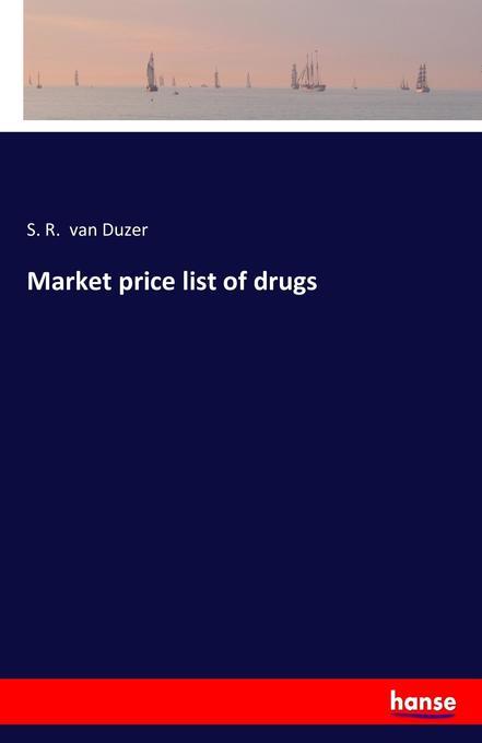 Market price list of drugs als Buch (gebunden)