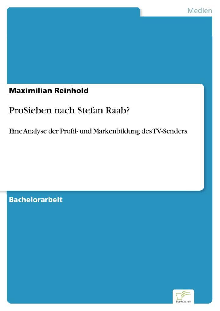 ProSieben nach Stefan Raab? als eBook Download ...