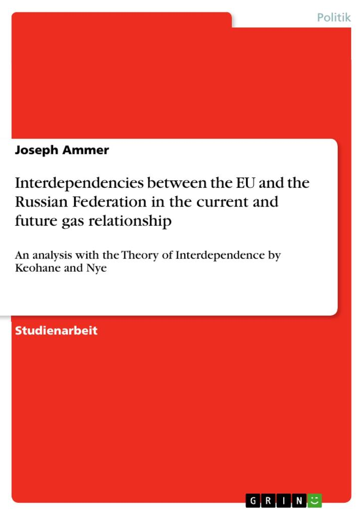 Interdependencies between the EU and the Russian Federation in the current and future gas relationship als Buch (gebunden)