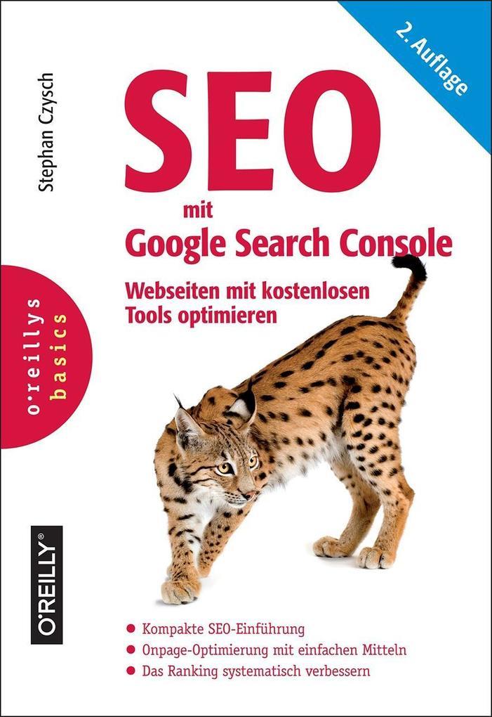 SEO mit Google Search Console als Buch von Step...