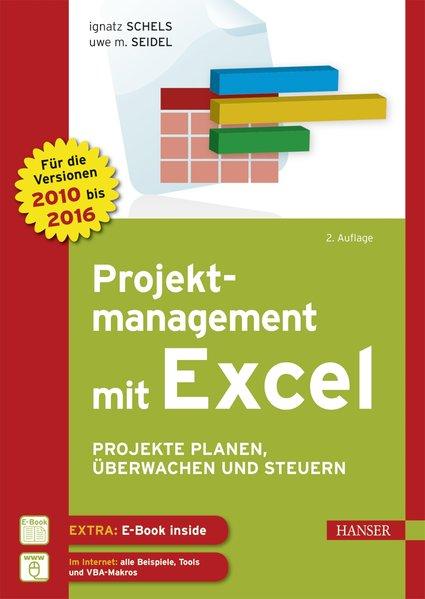 Projektmanagement mit Excel als Buch