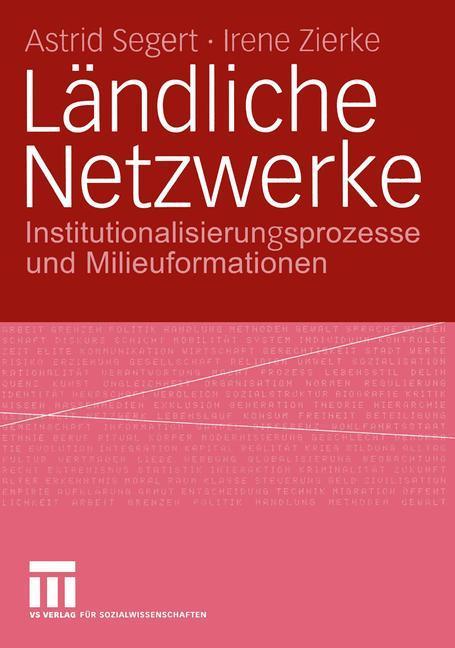 Ländliche Netzwerke als Buch