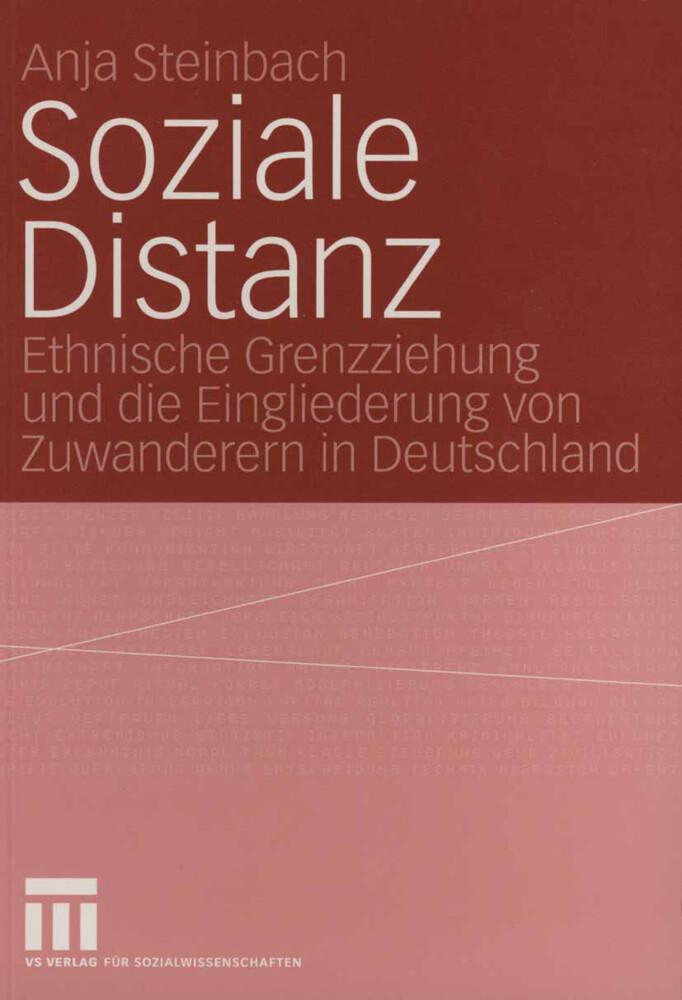 Soziale Distanz als Buch