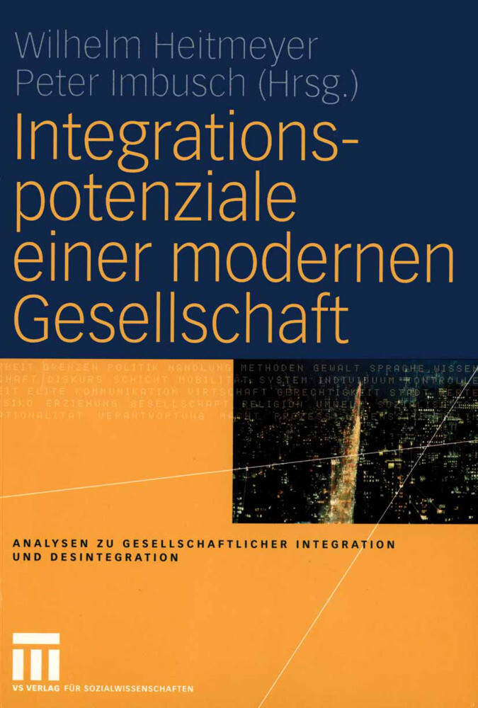 Integrationspotenziale einer modernen Gesellschaft als Buch