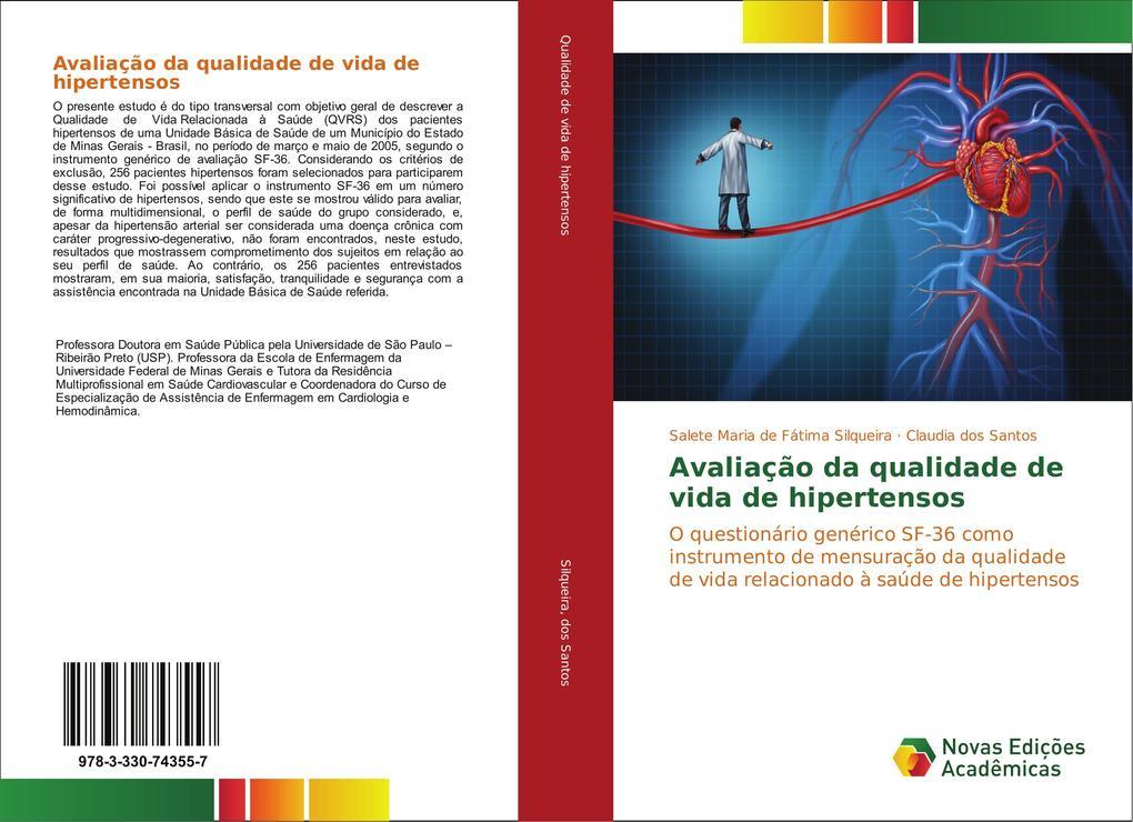 Avaliação da qualidade de vida de hipertensos als Buch (gebunden)