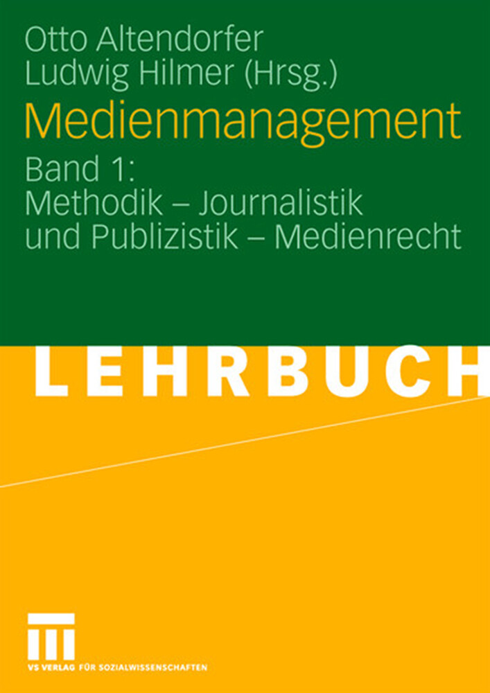 Medienmanagement als Buch (kartoniert)
