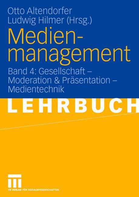 Medienmanagement als Buch