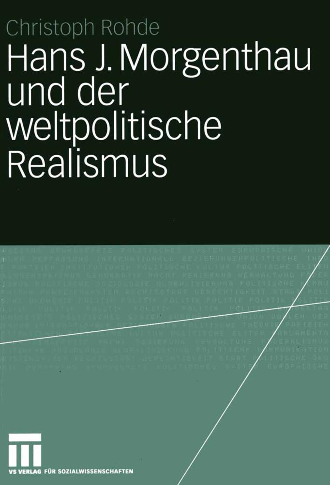 Hans J. Morgenthau als Buch