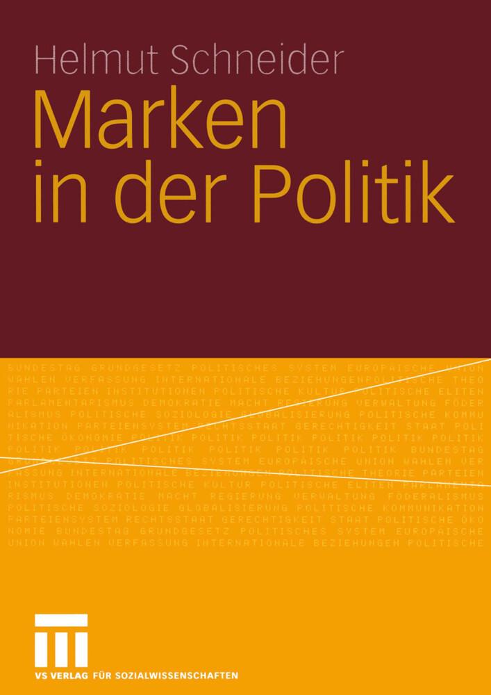 Marken in der Politik als Buch