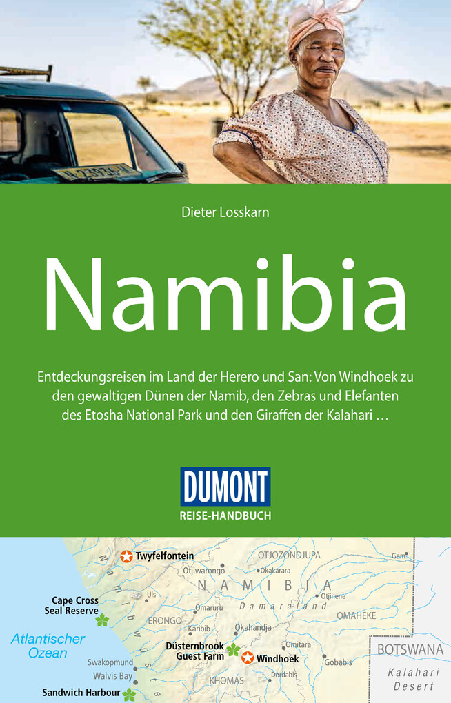 DuMont Reise-Handbuch Reiseführer Namibia als e...